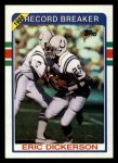 1989 Topps #3   -  Eric Dickerson Record Breaker Front Thumbnail