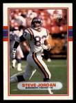 1989 Topps #81  Steve Jordan  Front Thumbnail