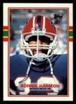 1989 Topps #55  Ronnie Harmon  Front Thumbnail