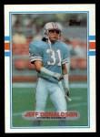 1989 Topps #100  Jeff Donaldson  Front Thumbnail