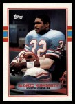 1989 Topps #96  Alonzo Highsmith  Front Thumbnail