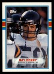 1989 Topps #80  Ray Berry  Front Thumbnail