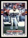 1989 Topps #139  Frank Minnifield  Front Thumbnail