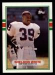 1989 Topps #170  Sheldon White  Front Thumbnail
