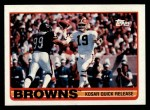 1989 Topps #138   Browns Leaders Front Thumbnail