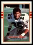 1989 Topps #116  Anthony Toney  Front Thumbnail