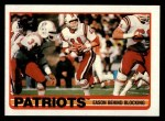 1989 Topps #193   Patriots Leaders Front Thumbnail