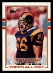 1989 Topps #123  Tom Newberry  Front Thumbnail