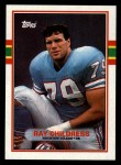 1989 Topps #101  Ray Childress  Front Thumbnail
