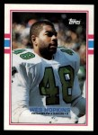 1989 Topps #111  Wes Hopkins  Front Thumbnail