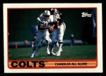 1989 Topps #205   Colts Leaders Front Thumbnail