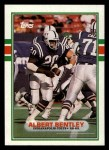 1989 Topps #216  Albert Bentley  Front Thumbnail