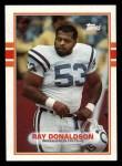 1989 Topps #211  Ray Donaldson  Front Thumbnail