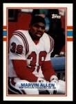 1989 Topps #202  Marvin Allen  Front Thumbnail