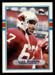 1989 Topps #277  Luis Sharpe  Front Thumbnail