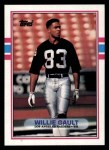 1989 Topps #272  Willie Gault  Front Thumbnail