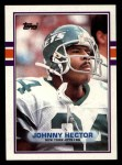 1989 Topps #227  Johnny Hector  Front Thumbnail