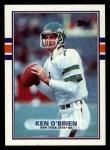 1989 Topps #228  Ken O'Brien  Front Thumbnail