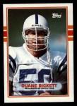 1989 Topps #208  Duane Bickett  Front Thumbnail