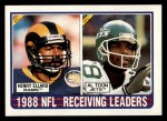 1989 Topps #218   Receiving Leaders Front Thumbnail