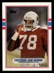 1989 Topps #286  Freddie Joe Nunn  Front Thumbnail
