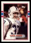 1989 Topps #214  Chris Goode  Front Thumbnail