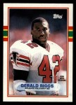 1989 Topps #342  Gerald Riggs  Front Thumbnail
