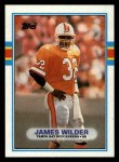 1989 Topps #329  James Wilder  Front Thumbnail