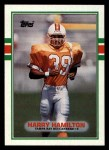 1989 Topps #328  Harry Hamilton  Front Thumbnail