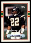 1989 Topps #307  Gill Byrd  Front Thumbnail
