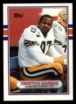 1989 Topps #374  Tim Harris  Front Thumbnail