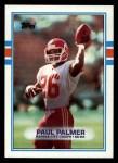 1989 Topps #357  Paul Palmer  Front Thumbnail