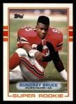 1989 Topps #337  Aundray Bruce  Front Thumbnail