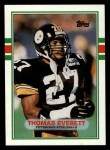 1989 Topps #322  Thomas Everett  Front Thumbnail
