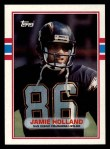 1989 Topps #308  Jamie Holland  Front Thumbnail