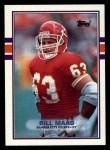 1989 Topps #354  Bill Maas  Front Thumbnail