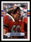 1989 Topps #338  John Rade  Front Thumbnail