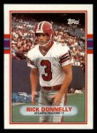 1989 Topps #345  Rick Donnelly  Front Thumbnail