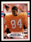 1989 Topps #332  Bruce Hill  Front Thumbnail