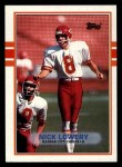 1989 Topps #358  Nick Lowery  Front Thumbnail
