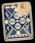 1951 Topps Blue Back #20  Ralph Branca  Back Thumbnail
