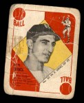 1951 Topps Blue Back #20  Ralph Branca  Front Thumbnail