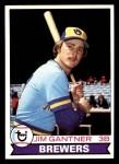 1979 Topps #154  Jim Gantner  Front Thumbnail