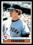 1979 Topps #434  Ken Clay  Front Thumbnail