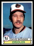 1979 Topps #367  Dave Skaggs  Front Thumbnail