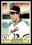 1979 Topps #461  Jim Barr  Front Thumbnail