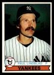 1979 Topps #634  Paul Lindblad  Front Thumbnail