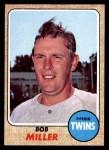 1968 Topps #534  Bob Miller  Front Thumbnail