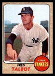 1968 Topps #577  Fred Talbot  Front Thumbnail
