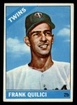 1966 Topps #207  Frank Quilici  Front Thumbnail